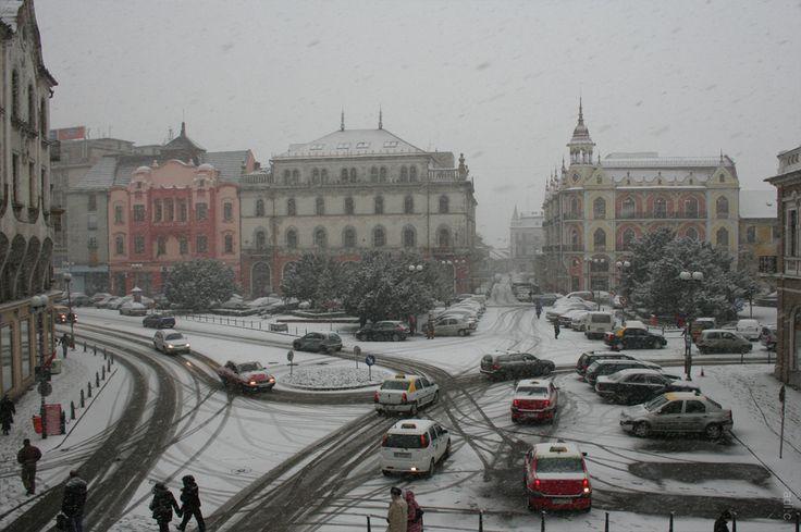 Romania, Nagyvárad, Oradea Mare, Großwardein - Oradea - Iarna anului 2012