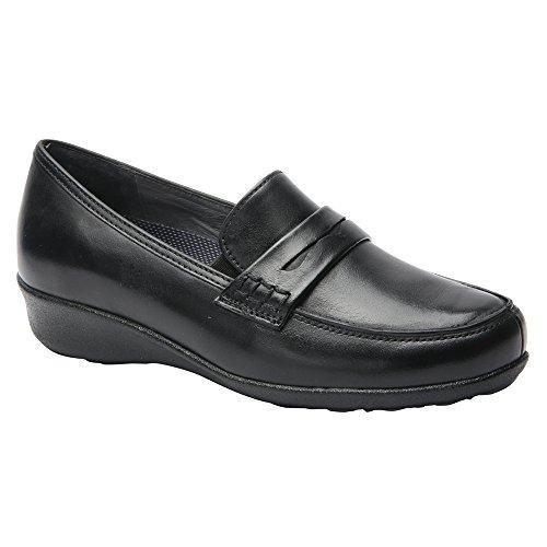 Drew Berlin - Women's Slip On Loafer - Black