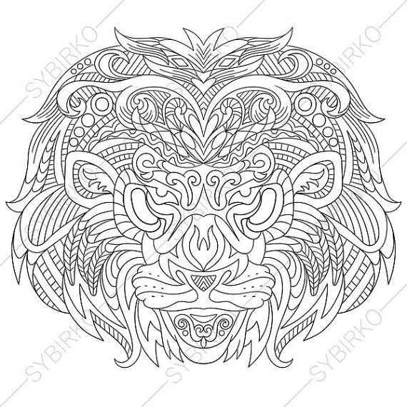 Best 25 mandala lion ideas on pinterest mandala lion for Lion mandala coloring pages