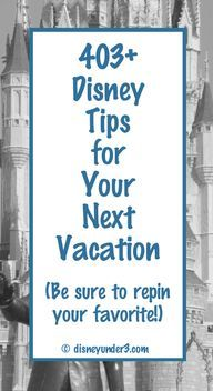 Disney Under 3 - When Should You Start Planning Your Disney Vacation? (with Printable Checklist)