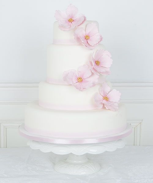 Floral Fantasy #Bryllupskake #CakesbyHancock #Bryllup
