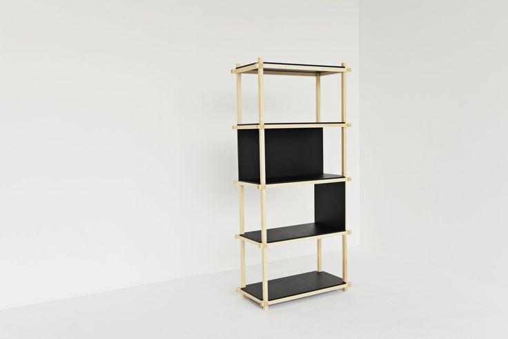 Knot Shelf 80, 5 levels. #mwa #makerswithagendas #mwadesign #agendadrivendesign #mwagram #nomadicliving #minimallogistics