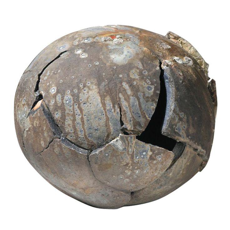 Richard Carter: Sculpted Large Ceramic Sphere