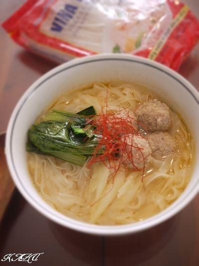 鶏団子のピリ辛フォー by KAZUさん | レシピブログ - 料理ブログの ...