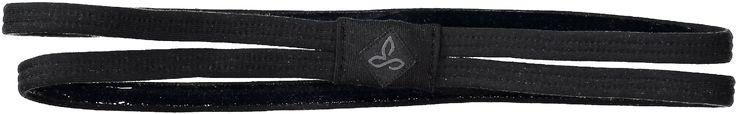 prAna Women's Double Headband Black