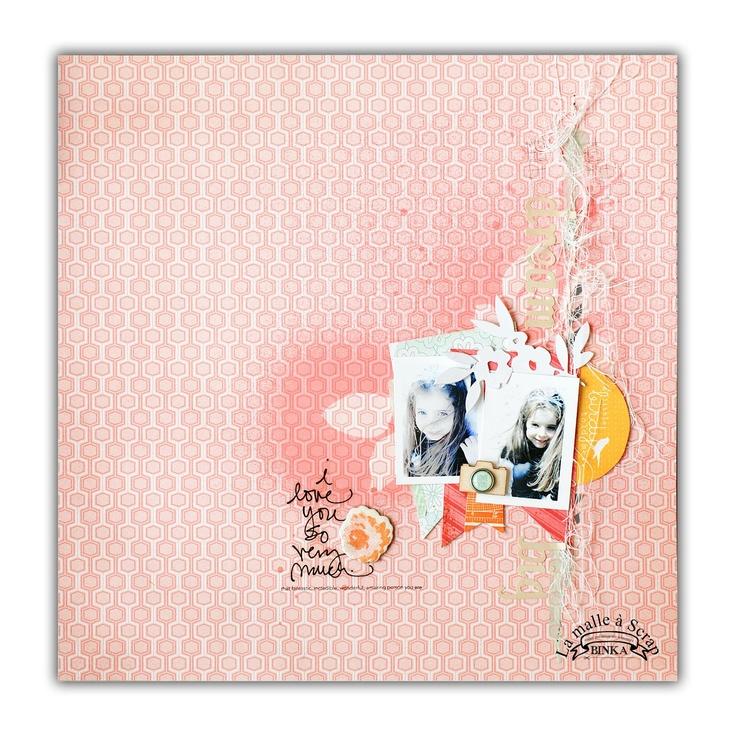 <3!: Indeed, Scrapbook Ideas, Simple Scrap, Rea De, Fav Scrapbook, Cœur Pour, De Binka, Les Rea, Of Heart