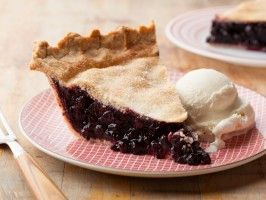 Huckleberry Pie - It's hard to collect enough huckleberries for a pie, but I bet this would taste great