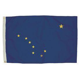 5-Ft W X 3-Ft H State Alaska Flag 2012051