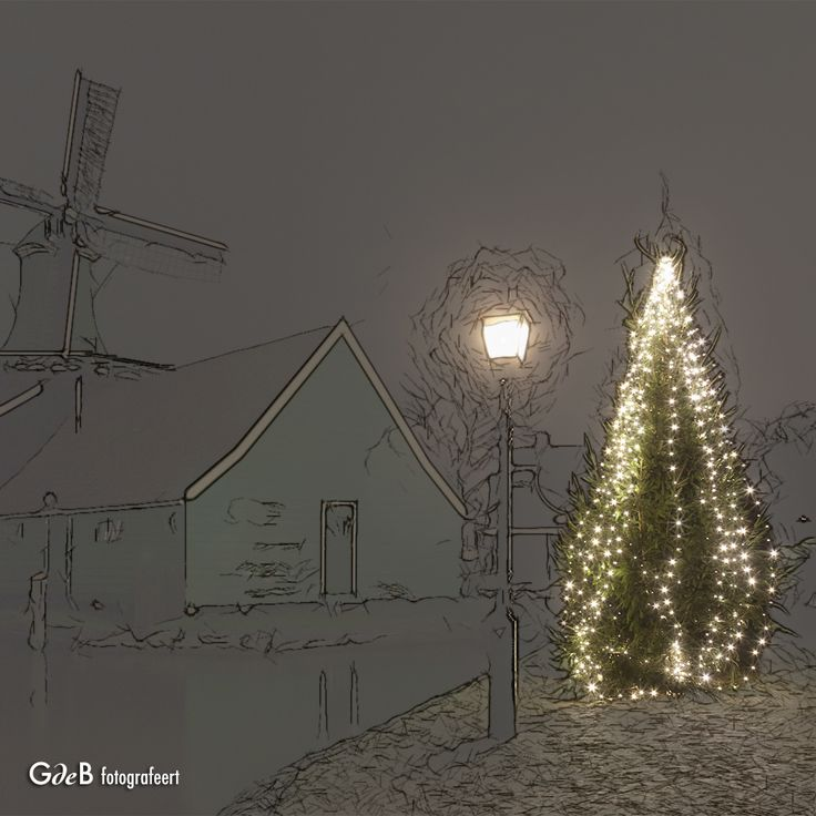 https://flic.kr/p/Qy6EYS | Xmas at the Zaanse Schans