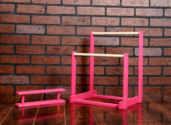 American Girl Doll Gymnastics Uneven Bars Do It Yourself DIY Kit