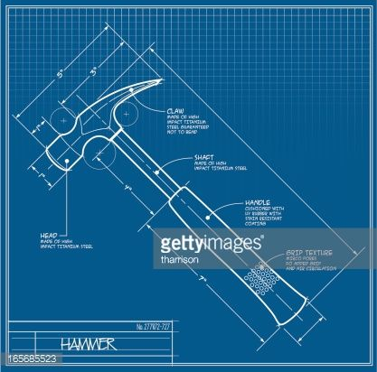 21 best blueprint backgrounds images on pinterest graphics vector art hammer blueprint malvernweather Gallery