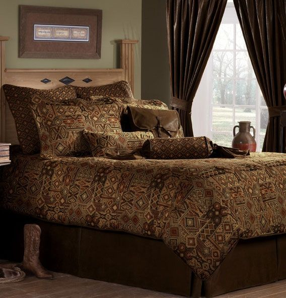 17 Best Images About Bedding For Western Southwestern Cabin And Lodge Decor On Pinterest Las