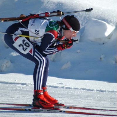 Winter Olympics with tickets to the biathlon events