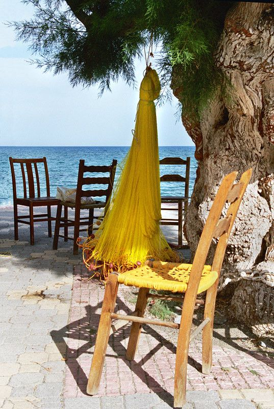 Done For The Day | #Ierapetra #Crete #Greece #Chair #Ashore #Bay #Beach #Sea #Vacations #Holidays #Traveling