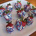 Cream Cheese Dipped Strawberries