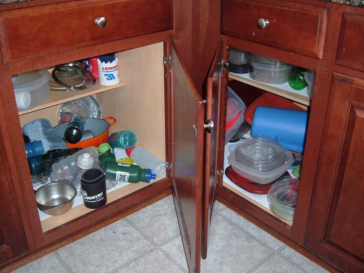 this house could definitely use some kitchen cabinet organizers photo by rubbermaid products on flickr - Kitchen Cabinet Shelving