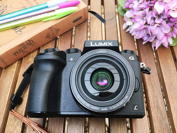 Panasonic Lumix DMC-G7 em Português
