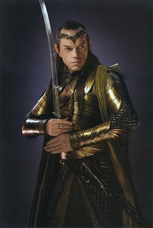 One of the most epic dads ever...Elladan, Elrohir and Arwen became the courage and all best of him.