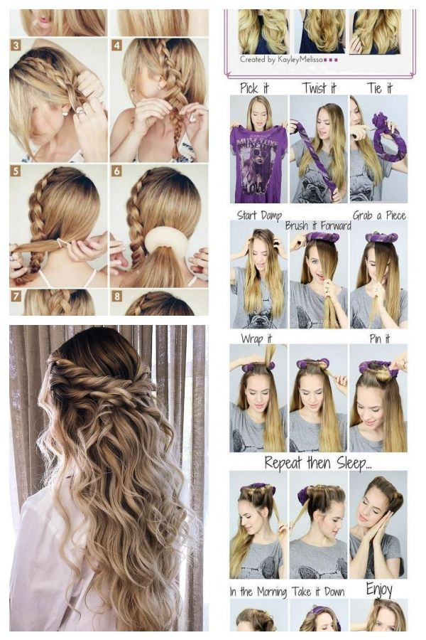 40 Best Easy Hairstyles For Long Hair To Do At Home For Ideas 2020 Easy Hairstyles For Long H Easy Hairstyles For Long Hair Easy Hairstyles Long Hair Styles