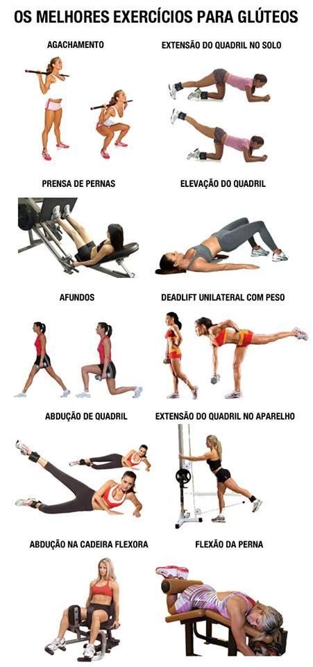 Exercícios bumbum.