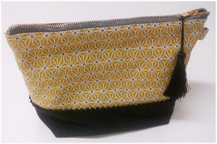 La tendance jaune s'invite dans la déco #jaune #geométrique #zen #tissu #deco #couture #diy #doityourself