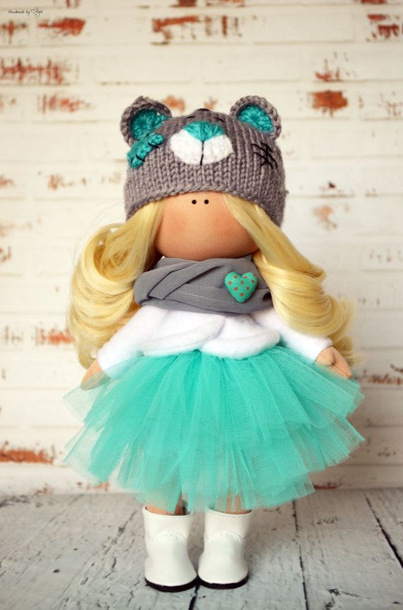 Fabric doll Interior doll Baby doll Art doll by AnnKirillartPlace