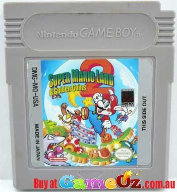 Game+Boy+Original+Game+:+Super+Mario+Land+2+-+6+Golden+CoinsGame+has+been+tested+and+works+perfectly.+World+wide+compatiblity.+-