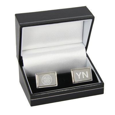Personalised Celtic Club crest cufflinks #CelticFC #Football #Gifts £24.95