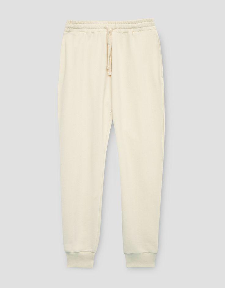 ¡Cómpralo ya!. Pantalón jogging. Pantalón jogging , pantalónjogger, joggers, jogging, joggings, jog, jogger, hosejogger, joggers, pantalonjoggeur, pantalonejogger, joggers. Pantalón jogger  de mujer color beige de Pull & Bear.