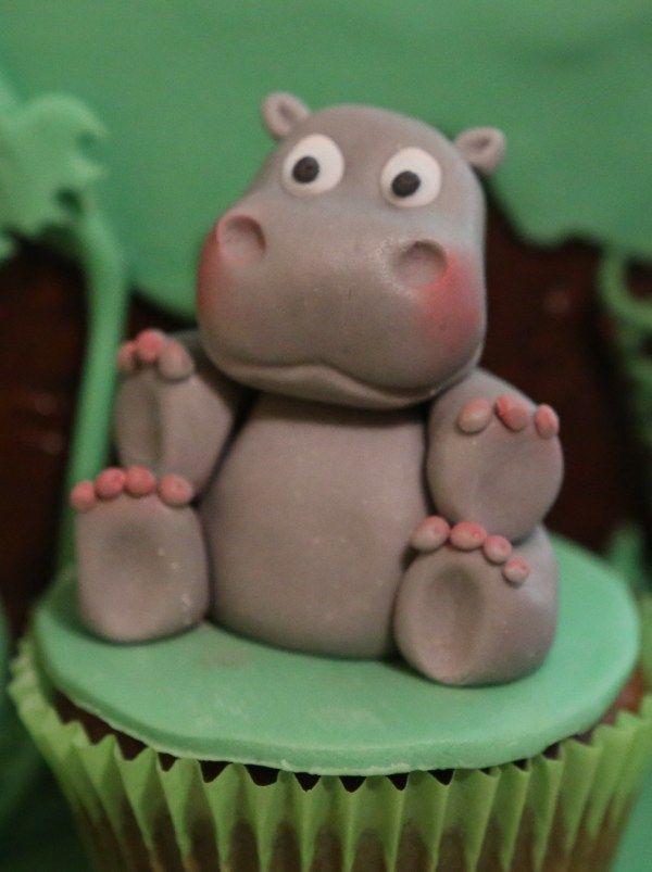 Nilpferd Hippo Fondant