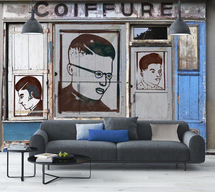 Recherche fond blanc / incréation • revêtement mural et papier peint sur mesure