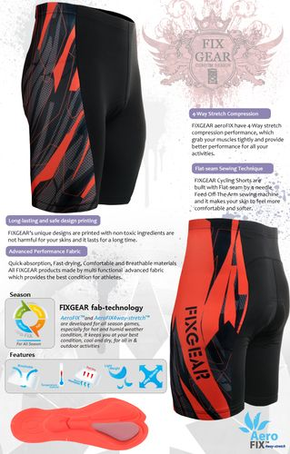 Best Cut & Best design for the best fit in any biking padded tight shorts.
