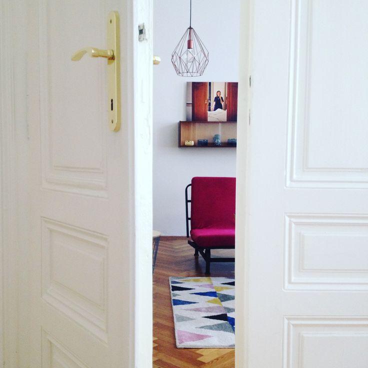 Behind the doors - living room. #livingroom