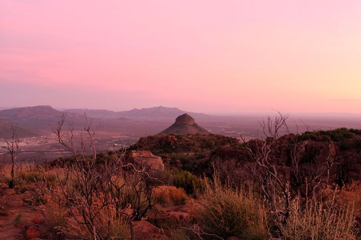 The Camdeboo district in the Karoo, South Africa, a must visit!