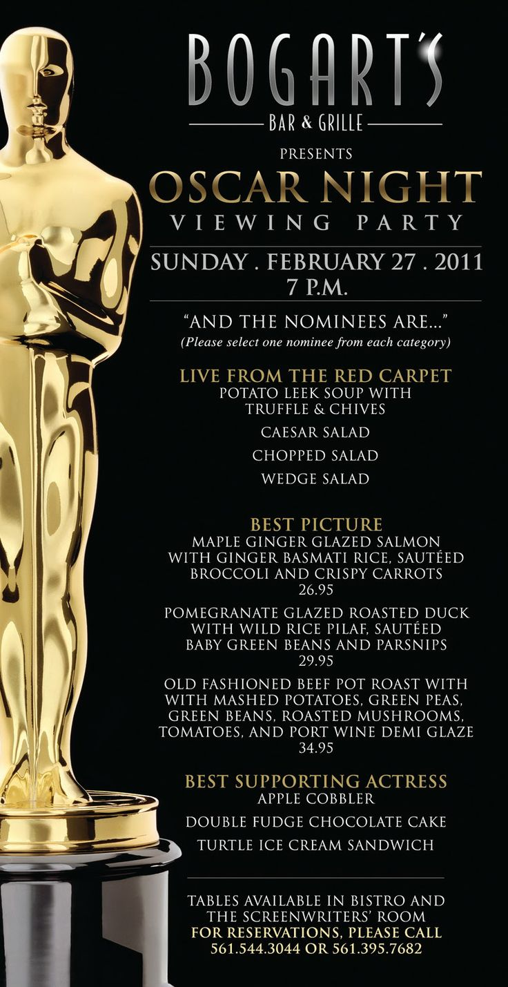 Best 25 Oscar Night Ideas On Pinterest Oscar Party