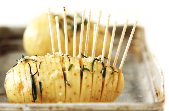batata assada laminada