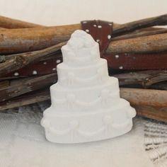Gessetto profumato,torta sposi wedding cake segnaposto