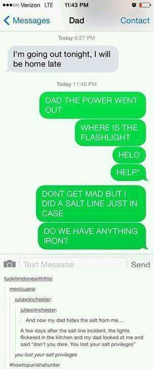 Id be the one to loose my salt privilages