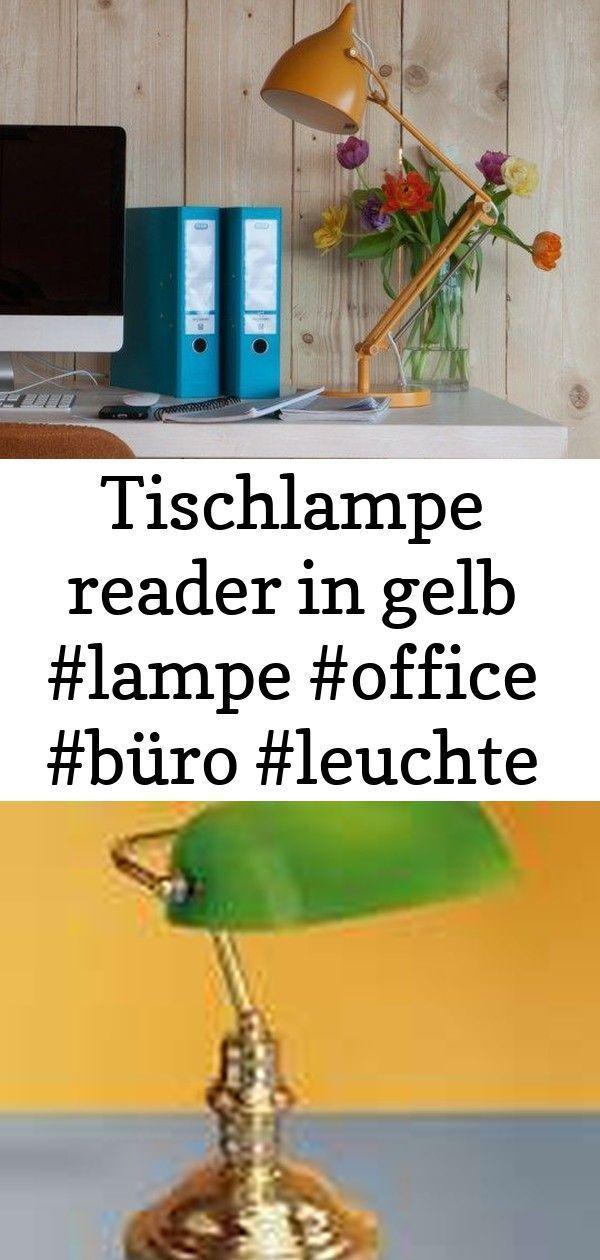Tischlampenleser In Gelb Lampe Buro Buro Licht Lesen 2 In 2020 Mit Bildern Tischlampen Lampen Lampentisch