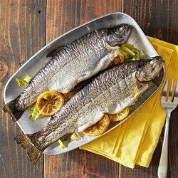 recipe: grilled whole trout foil packets [8]