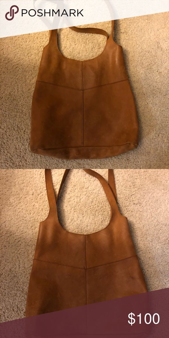 All leather tote featured on the Fixer Upper All leather tote made in Ethiopia.  Bought off Magnolia Homes listed as Joanne's favorite tote.  All natural.  I have weatherized it. & Other Stories Bags Totes