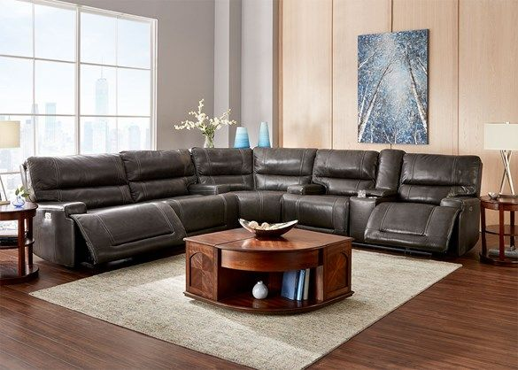 Sensational Clio 3 Pc Power Sectional The Roomplace Couches In 2019 Ncnpc Chair Design For Home Ncnpcorg