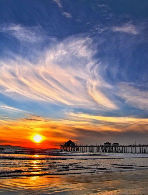 Huntington Beach, California.  Lived here.  This is where my oldest daughter was born.  It is great fun.