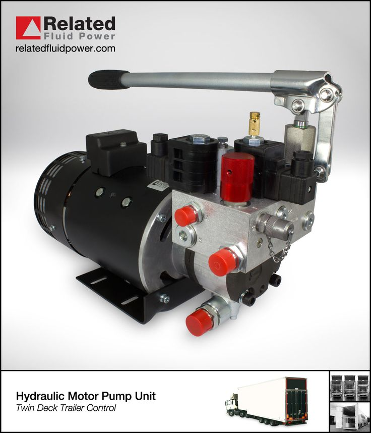 19 best hydraulic mini power units images on pinterest for Hydraulic pump motor units