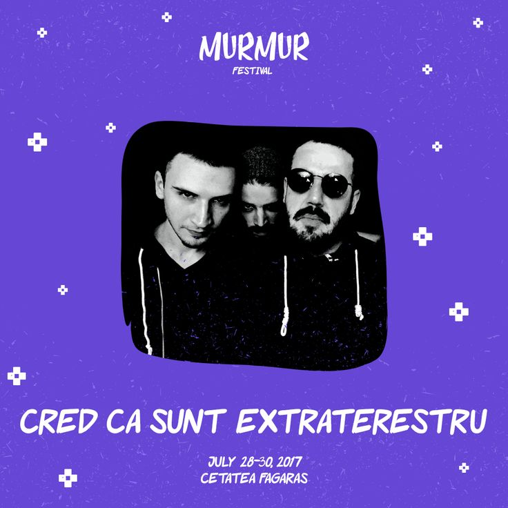 Dope beats combined with guitar riffs and emerging new sounds. Cred Ca Sunt Extraterestru. #idm #romania #brasov #festivals