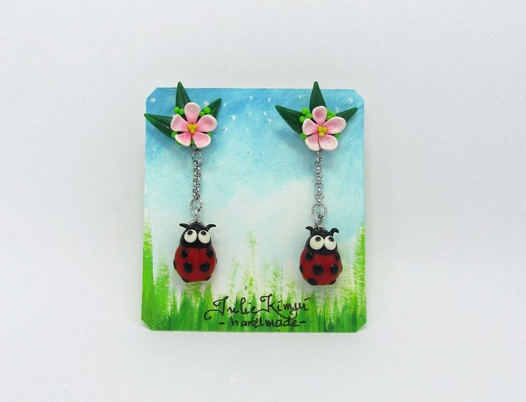 Excited to share the latest addition to my #etsy shop: Cute Ladybug Stud Earring in Polymer Clay #jewelry #earrings #animal #women #ladybug #polymerclay #cuteearring #polymerclayjewelry #kawaiiearring http://etsy.me/2BFzK5r