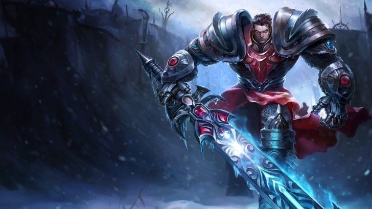 Garen Dread Knight League of Legends C3