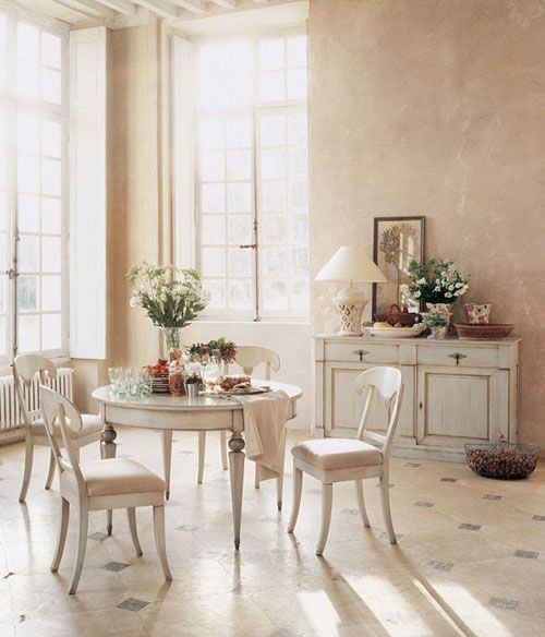 20 best style shabby chic images on Pinterest Dining rooms, Dining