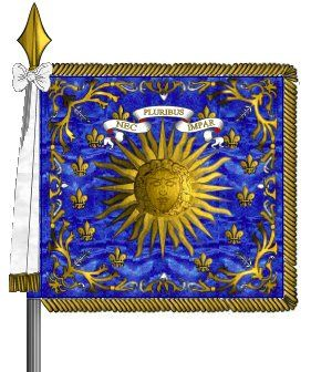 France - RR Nr.116 - Royal-Pologne : Regimental Standard