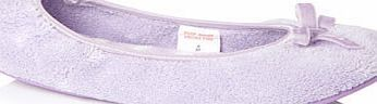 Bhs Womens Lilac Velvet Bow Ballerina Slipper with A stylish slip on full toe ballerinaslipper with atextile upper and ribbon bow detail. Comfortable and hardwearing.All materials Textile/Textile coatedMachine washable at 30 degreesDry flatDo not  http://www.comparestoreprices.co.uk/fashion-clothing/bhs-womens-lilac-velvet-bow-ballerina-slipper-with.asp